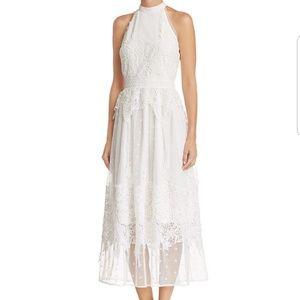 Aqua Dresses Flash Saleblue Metallic Dress By Poshmark